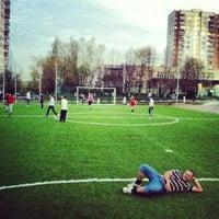Photo taken at Футбольное Поле by 🇷🇺Leonid M. on 5/12/2012