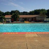 Photo taken at Tesoriere Swimming Pool by (G)AREE(B) on 4/8/2012