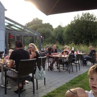 Photo taken at Pannenkoeken Paviljoen by Veron on 8/16/2012
