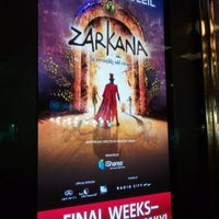 Photo taken at Zarkana by Cirque du Soleil by Traci on 9/30/2011
