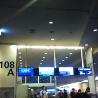 Photo taken at Gate 108 by Ai K. on 5/29/2012