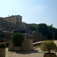 Photo taken at Stazione S. Anna FCU by Nestlee M. on 7/25/2012