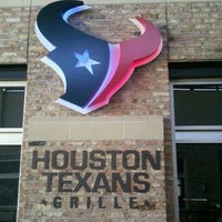 Photo taken at Houston Texans Grille by David @. on 11/11/2011