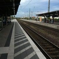 Photo taken at Gütersloh Hauptbahnhof by Armen M. on 8/21/2011