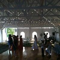 Photo taken at Magnolia Estates Outdoor Weddings by Gabe H. on 8/25/2012