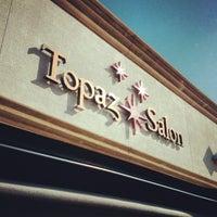 Photo taken at Topaz Salon by Erik S. on 4/4/2012
