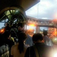 Photo taken at Yellow Line - Buendia Station by Gemer Ann T. on 9/10/2012