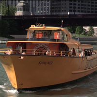 Photo taken at Chicago Water Taxi (Michigan) by Loyola University Chicago on 11/6/2011