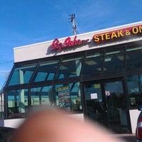 Photo taken at Big John Steak & Onion by Jason K. on 1/8/2012