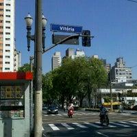 Photo taken at Avenida Rio Branco by Ricardo P. on 12/21/2011