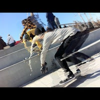 Photo taken at Far Rockaway Skatepark by HOMAGE B. on 11/5/2011
