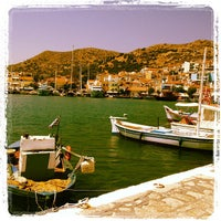 Photo taken at Port of Pythagoreio Harbor by Francesca R. on 8/14/2012