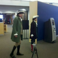 Photo taken at Colonial Williamsburg Regional Visitor Center by Nile G. on 12/29/2011