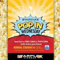 Photo taken at Starplex Cinemas Normal Stadium 14 by Starplex Cinemas on 10/19/2011
