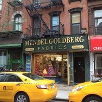 Photo taken at Mendel Goldberg Fabrics by :Danielle S. on 12/27/2011