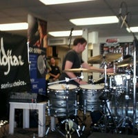 Photo taken at Explorer's Percussion by John S. on 4/23/2012
