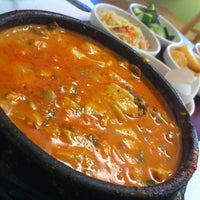 Photo taken at So Gong Dong Tofu House by Russell M. on 1/25/2011