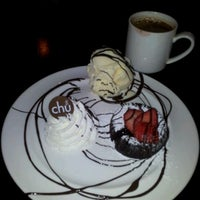 Photo taken at Chu Chocolate Bar & Café by naphon l. on 1/28/2012