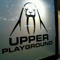 Photo taken at Upper Playground - Berkeley by Ernesto M. on 10/9/2011