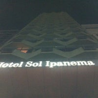 Photo taken at Sol Ipanema Hotel by André M. on 9/1/2012