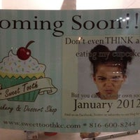 Photo taken at The Sweet Tooth - Cupcakery and Dessert Shop by Trevor G. on 11/29/2011