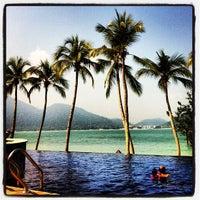 Photo taken at Pangkor Laut Resort by Maarten D. on 7/28/2012