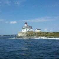 Photo taken at Rose Island by Chris R. on 8/20/2011