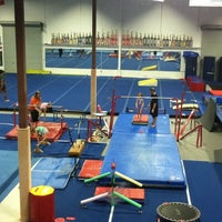 Photo taken at Alamo Heights Gymnastics Academy by Tania R. on 7/30/2011