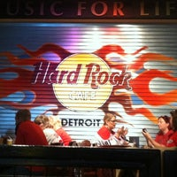 Photo taken at Hard Rock Cafe Detroit by Steve V. on 3/19/2012