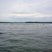 Photo taken at Geneva Lake by Ryan E. on 6/23/2012