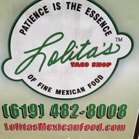 Photo taken at Lolitas Taco Shop by Dennis V. on 5/20/2012