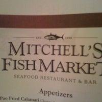 Photo taken at Mitchell's Fish Market by Sonya B. on 9/4/2011
