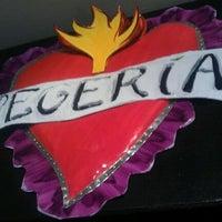 Photo taken at Vegeria Vegan Tex-Mex by Cynthia G. on 10/29/2011