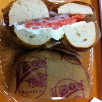 Photo taken at Leo's Bagels by Philip Y. on 3/16/2012