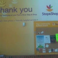 Photo taken at Stop & Shop by Diana B. on 9/9/2012