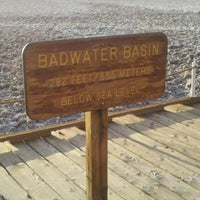 Photo taken at Badwater Basin by Paul F. on 8/23/2012