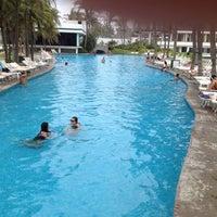Photo taken at Alberca / Pool by Mara Luisa P. on 6/26/2012