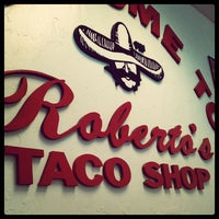 Photo taken at Roberto's Taco Shop by Erick F. on 6/13/2012