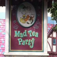 Photo taken at Mad Tea Party by Cliff F. on 9/26/2011