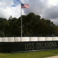 Photo taken at USS Oklahoma Memorial by Carlos L. on 11/26/2011