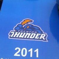 Photo taken at Arm & Hammer Park by Jaime S. on 8/19/2011