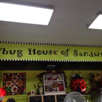 Photo taken at Ladybug House of Sandwiches by G T. on 12/13/2011