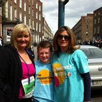 Photo taken at O'Connell Street by Dorothy Q. on 5/6/2012