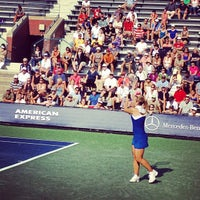 Photo taken at Court 7 - USTA Billie Jean King National Tennis Center by Greg B. on 8/28/2012