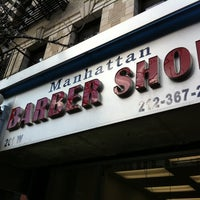 Foto scattata a Manhattan Barber Shop da Max B. il 3/11/2011