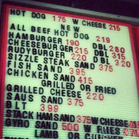 Photo taken at Rudy's Hot Dogs by Joe G. on 7/23/2012