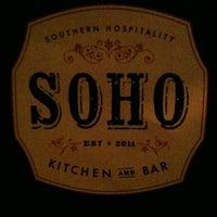 Photo taken at soho chicken + whiskey by Rob J. on 4/15/2012