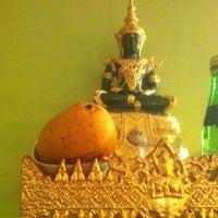 Photo taken at Mukda Thai Cuisine by Manoj S. on 4/1/2012