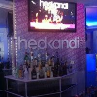 Photo taken at Hedkandi Bar Ibiza by Kate N. on 9/19/2011