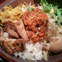 Photo taken at 光麺 六本木店 by chronos d. on 10/7/2011